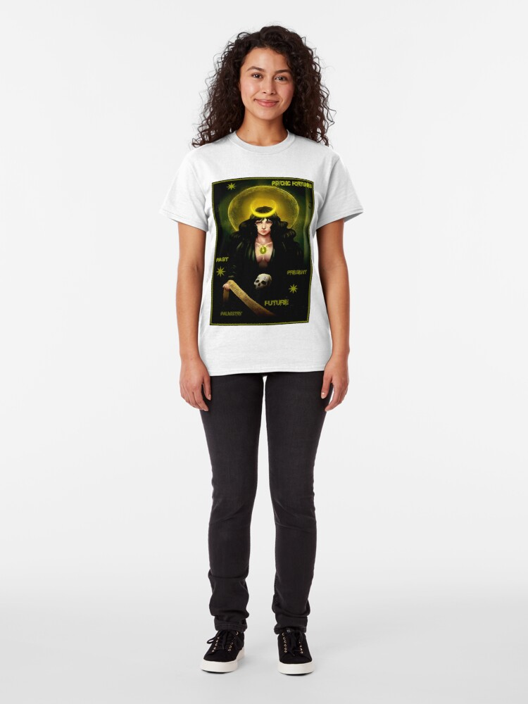 Alternate view of PSYCHIC FORTUNES: Vintage Fortune Teller Print Classic T-Shirt