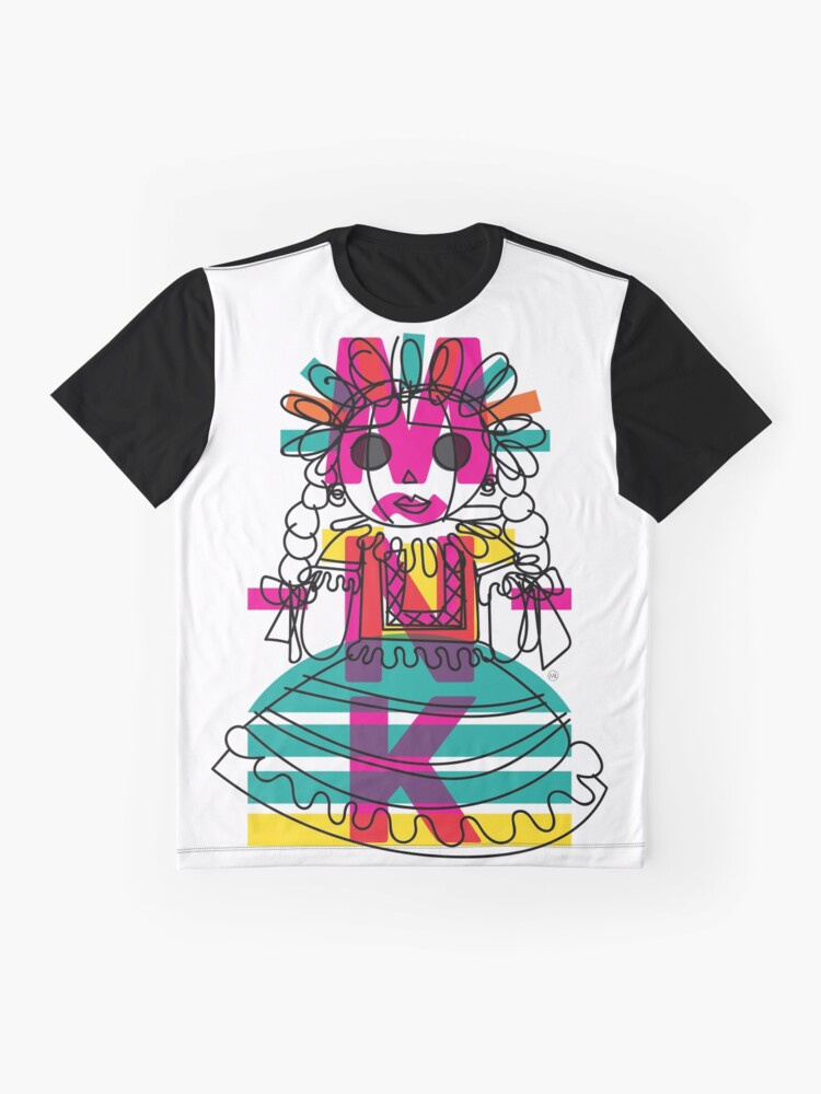Alternate view of Doodle Doll Graphic T-Shirt