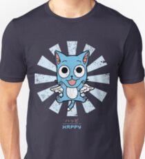 Happy Fairy Tail Retro Japanese Slim Fit T-Shirt