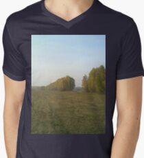 a stunning Russia landscape Men's V-Neck T-Shirt