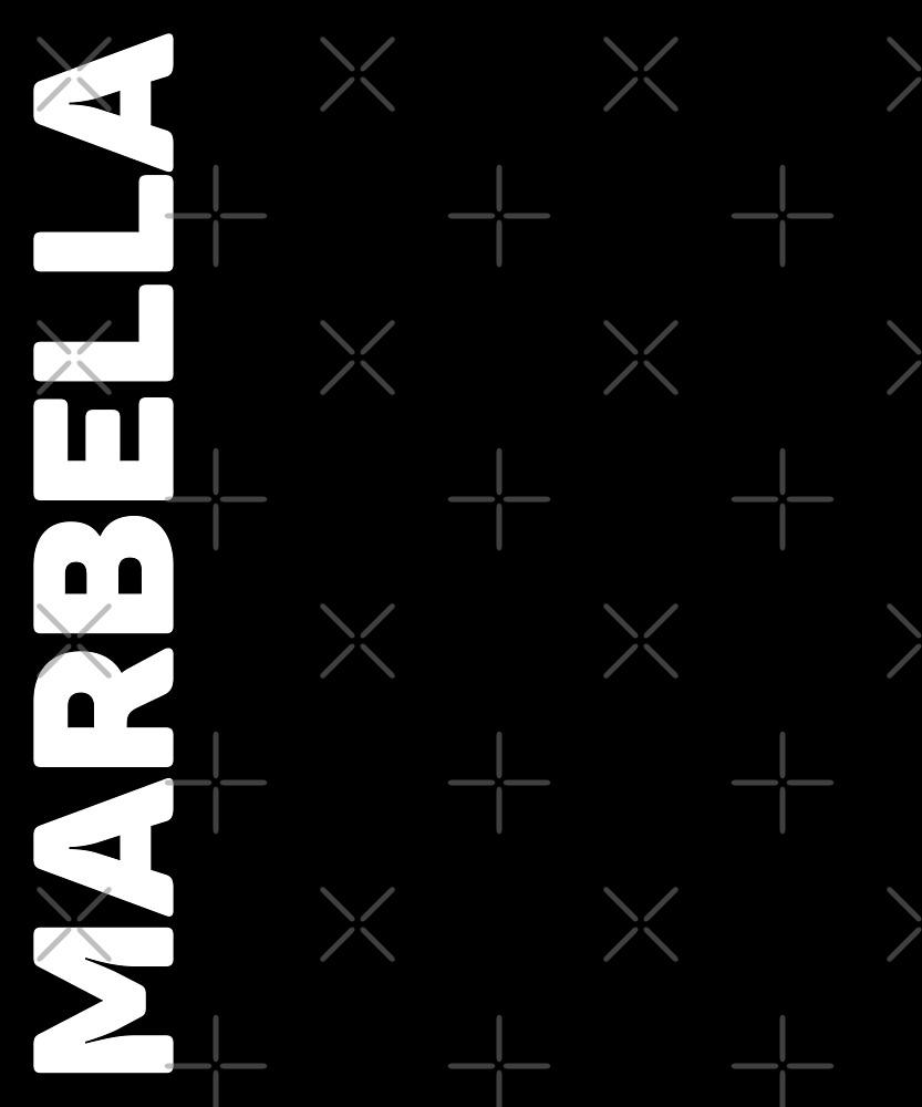 Marbella T-Shirt by designkitsch