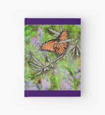 Monarchfalter am botanischen Garten der Wüste Notizbuch