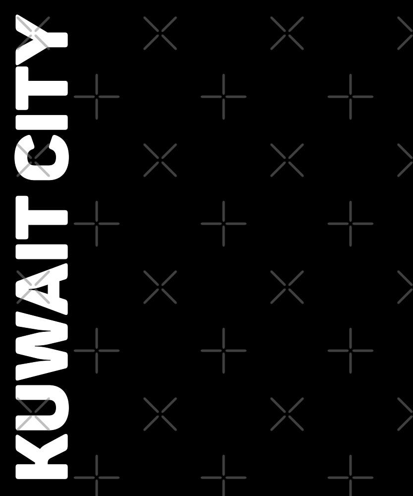 Kuwait City T-Shirt by designkitsch