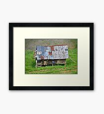 Home sweet home - Mamasa Valley, Sulawesi Indonesia Framed Print