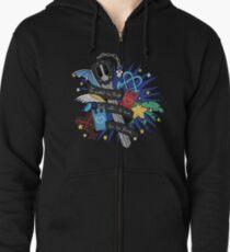 Riku - Kingdom Hearts Zipped Hoodie