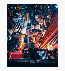 Nightscape on the Edge Photographic Print