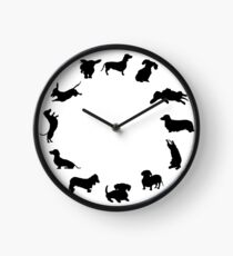 It's dachshund o'clock Clock