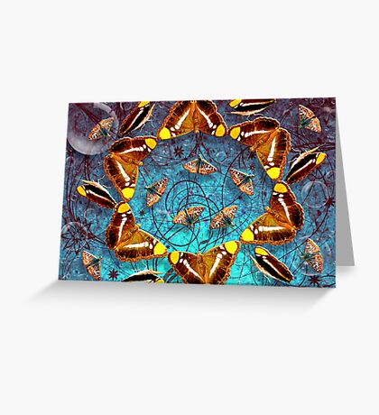 The Butterfly Star Greeting Card