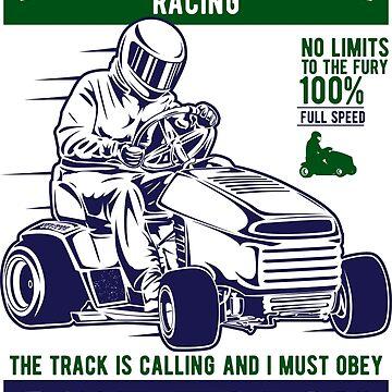 Lawnmower Racing Race Team by offroadstyles