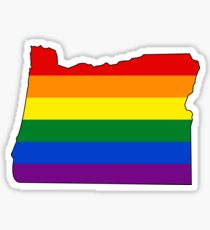 Oregon Pride! Sticker