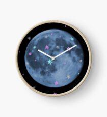Snow moon Clock