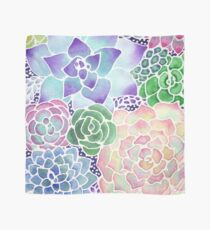 Masked Flora Collection Succulents Scarf