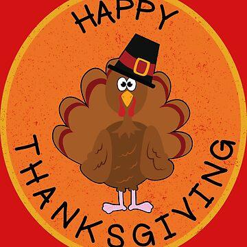 Thanksgiving Turkey by Vectoracci