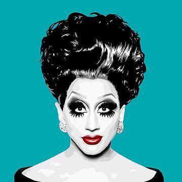 Bianca Del Rio, Drag Queen, RuPaul's Drag Race by vixxitees