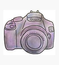 Pastel Camera Photographic Print