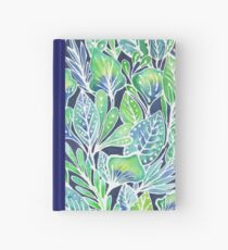 Masked Flora Collection Leaves Hardcover Journal