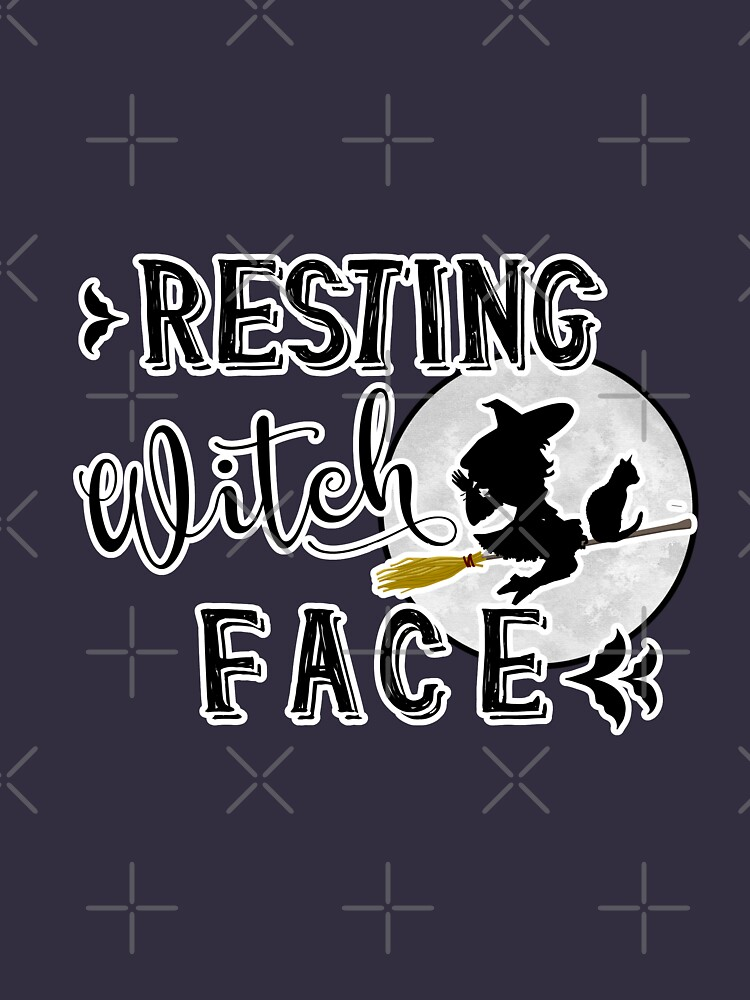 resting witch face by raineofiris