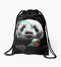 PANDA BUBBLEMAKER Drawstring Bag