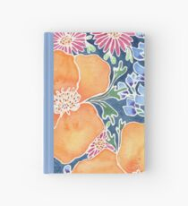 Masked Flora Collection Poppies Hardcover Journal