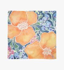 Masked Flora Collection Poppies Scarf