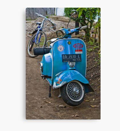 Bukittingi scooter gang Canvas Print
