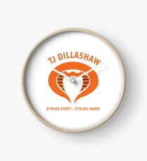 TJ Dillashaw Snake Strike First Strike Hard Merch Clock