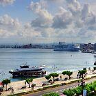 Santander Ferry Port by Tom Gomez