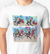 Camiseta unisex Baile de tortura (Jojo's Bizzare Adventure Part 5: Golden Wind