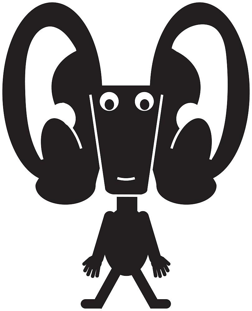 Ear Beast by sstowe