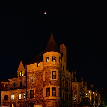 Blood Moon Eclipse over Brookline,MA by LudaNayvelt
