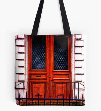 Paris Doorway Tote Bag