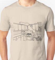 Elevated Dog Stretch T-shirt Unisex T-Shirt