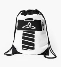 Whosoever Holds This Hammer... Drawstring Bag