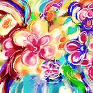 Flowers in a Vase 1.B by Janette  Leeds
