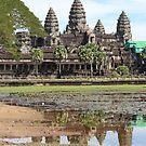 Reflections of Angkor by signaturelaurel