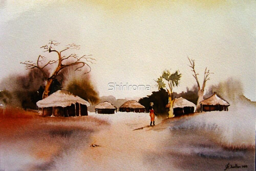 Village Huts by Shirlroma