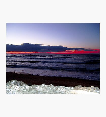 Sunset-Margaree Harbour Photographic Print