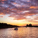 Break of Day on the Moyne River, Port Fairy, Victoria by Christine Smith