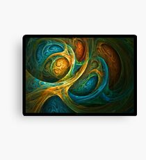 """Spirit Realm"" - Fractal Art Canvas Print"