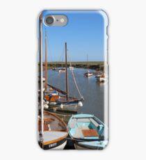 Blakeney Point Boats Moared iPhone Case/Skin