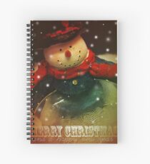 Holiday Greetings 1 Spiral Notebook