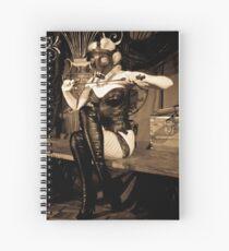 Meluxine Spiral Notebook