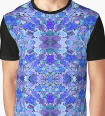 Türkis Opal Lapis Grafik T-Shirt