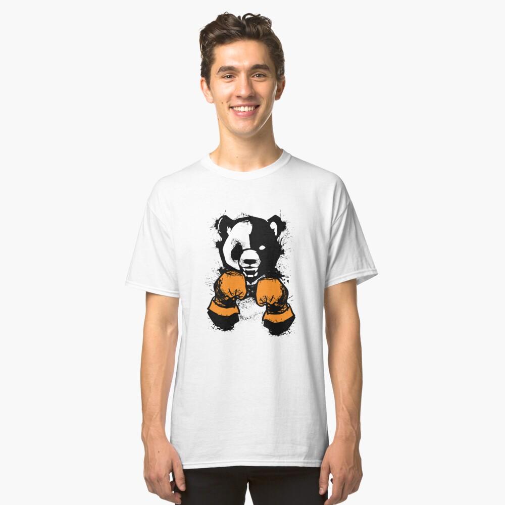 'The winner' Cool  Panda Bear Boxing Glove  Classic T-Shirt Front