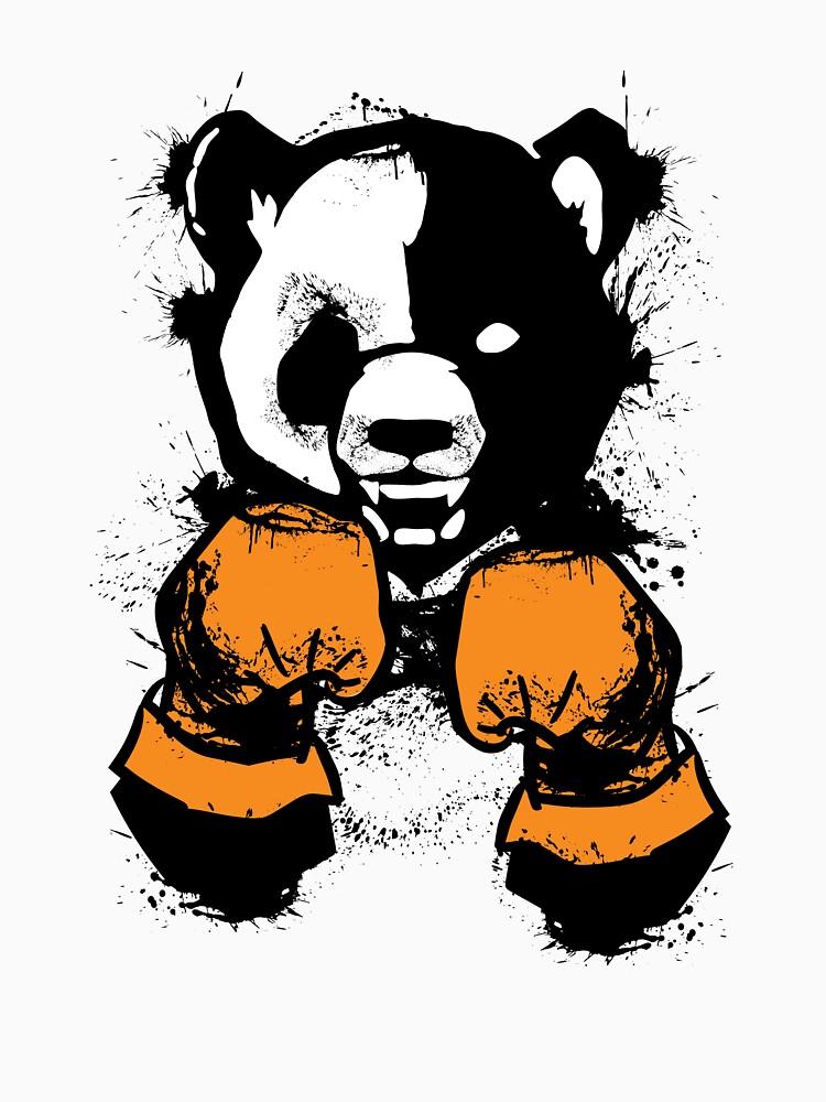 'The winner' Cool  Panda Bear Boxing Glove  by leyogi