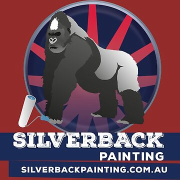Silverback Painting Merch by yobbo