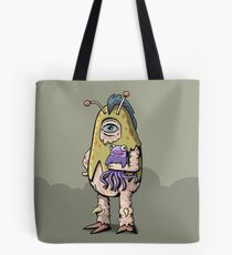Millicent the pretty little monster Tote Bag