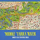 Middle Yarra Plan & Kew Cottages.  1990  by 4Kew
