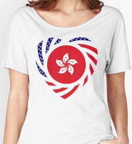I Heart Hong Kong Patriot Flag Series Relaxed Fit T-Shirt