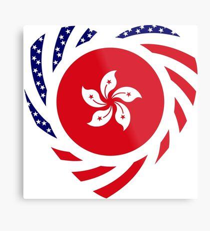 I Heart Hong Kong Patriot Flag Series Metal Print